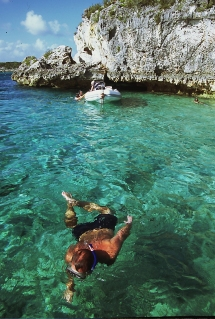 Thunderball Cave, Bahamas