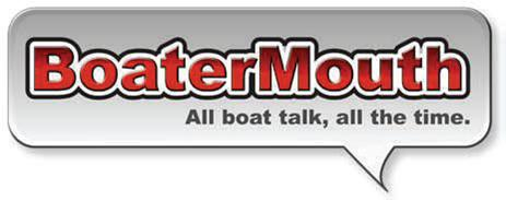 BoaterMouth Logo Talk Bubble